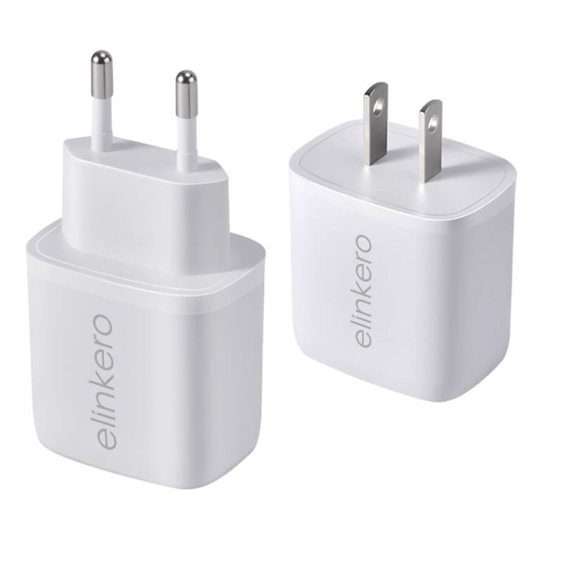 Wholesale 20W chargers dual input PD +USB A