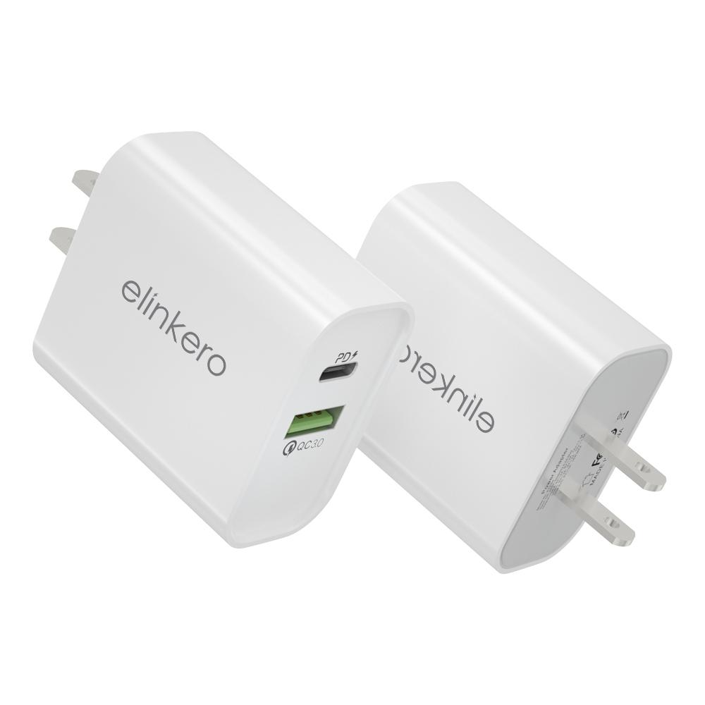 custom-18W-20W-dual-PD-chargers